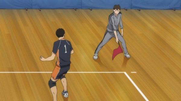 「ハイキュー!! 烏野高校VS白鳥沢学園高校」 (8)