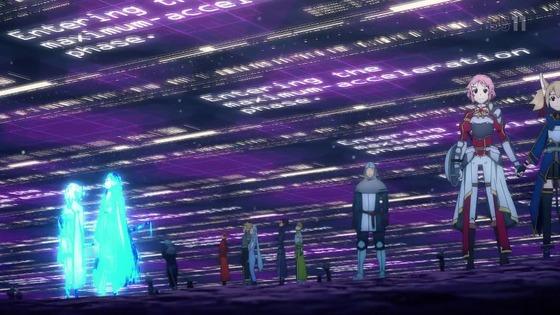 「SAO アリシゼーション」3期 第20話感想 (80)