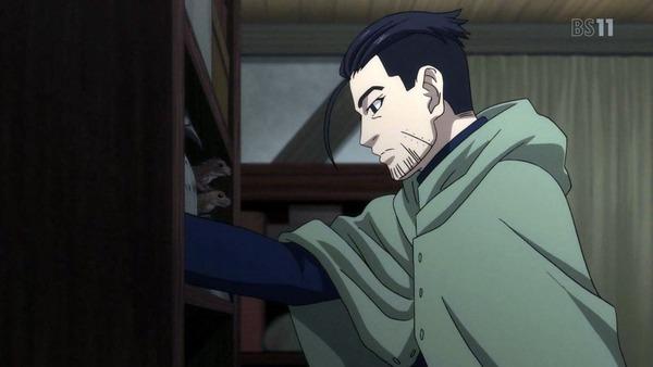 「ゴールデンカムイ」15話(2期 3話) (3)