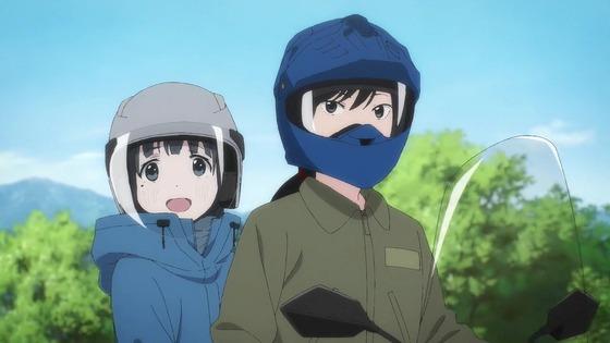 「スーパーカブ」12話 最終回感想 (99)