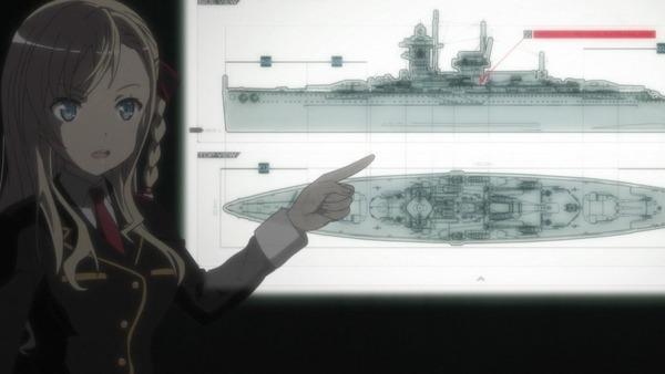「ハイスクール・フリート(はいふり)」9話 (9)