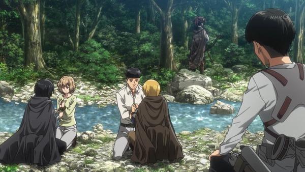 「進撃の巨人 Season3」(3期 4話)41話感想 (18)