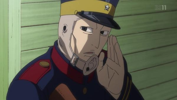 「ゴールデンカムイ」15話(2期 3話) (9)