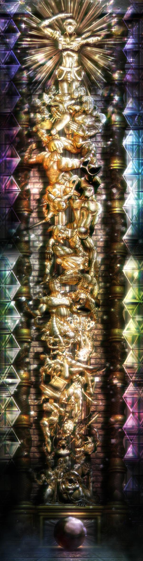 「ジョジョの奇妙な冒険 5部」39話感想 (53)