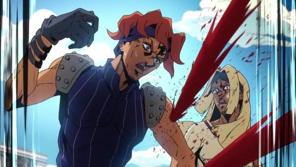 「ジョジョの奇妙な冒険 5部」23話感想 (13)