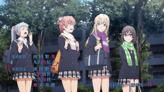 「俺ガイル」第3期 第1話感想  (10)