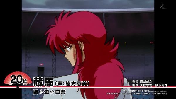 好きなアニメキャラ「ニッポンアニメ100」ランキング (11)
