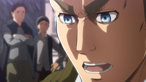 「進撃の巨人 Season3」(3期 3話)40話