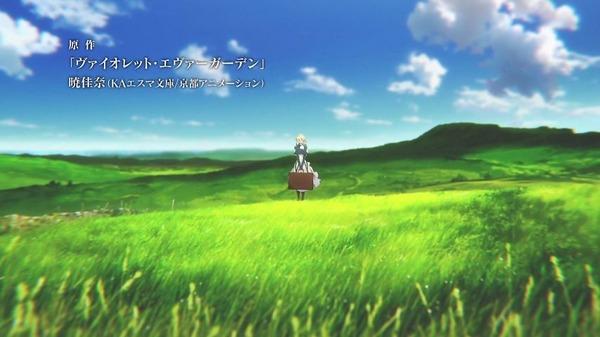 「ヴァイオレット・エヴァーガーデン」3話 (5)