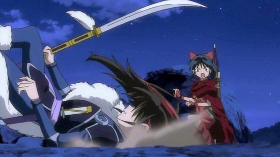 「半妖の夜叉姫」第8話感想 画像 (109)