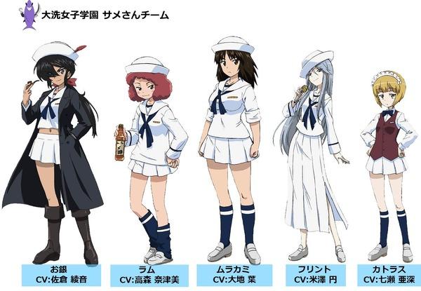 大洗女子学園 サメさんチーム