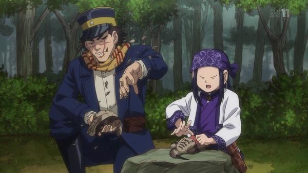 「ゴールデンカムイ」15話(2期 3話) (50)