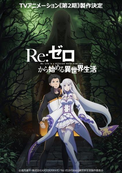 「Re:ゼロから始める異世界生活」TVアニメ第2期