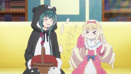 「くまクマ熊ベアー」第6話感想 画像 (72)