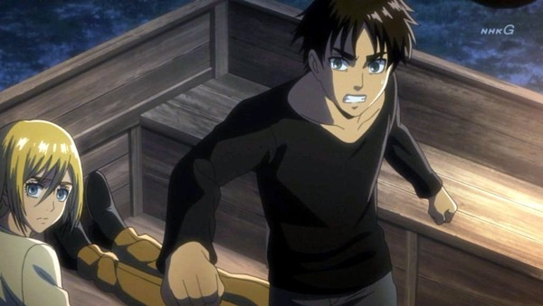 「進撃の巨人 Season3」(3期 9話)46話感想 (13)