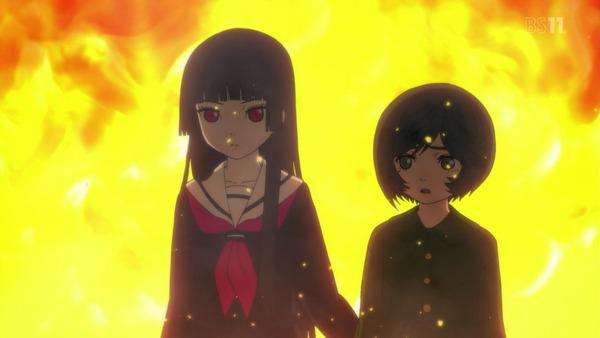 「地獄少女 宵伽」4期 5話感想 ミチルの抱える業、理不尽と逆恨みは普遍と感じる地獄少女らしさ。(画像)