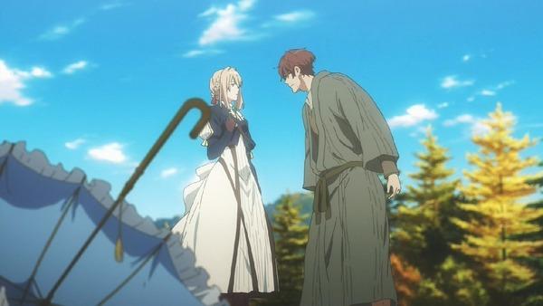 「ヴァイオレット・エヴァーガーデン」7話 (42)