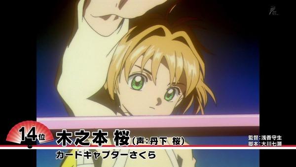 好きなアニメキャラ「ニッポンアニメ100」ランキング (17)