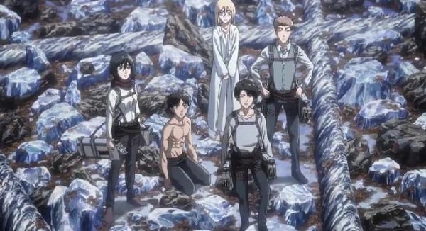 「進撃の巨人 Season3」(3期 8話)45話感想 (30)