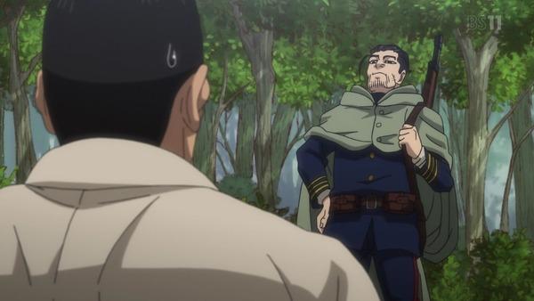 「ゴールデンカムイ」15話(2期 3話) (52)
