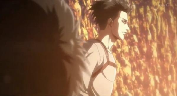 「進撃の巨人 Season3」(3期 8話)45話感想 (9)
