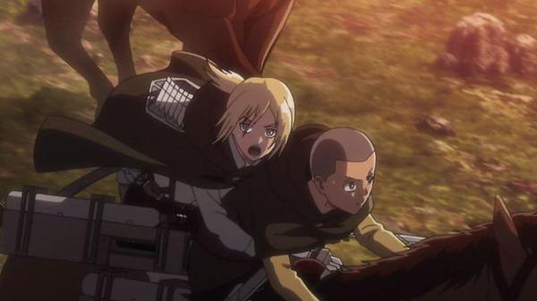 「進撃の巨人 Season2」37話 (1)