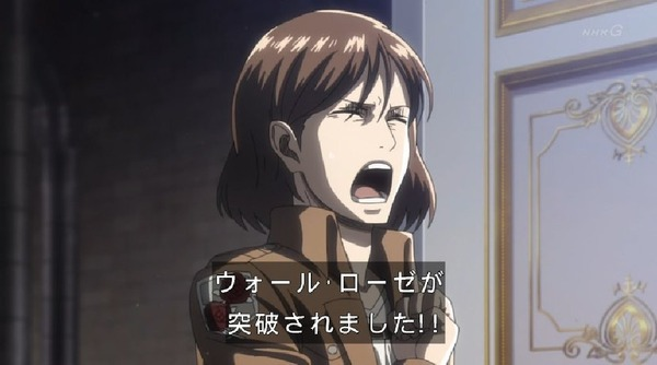 「進撃の巨人 Season3」(3期 5話)42話感想 (8)