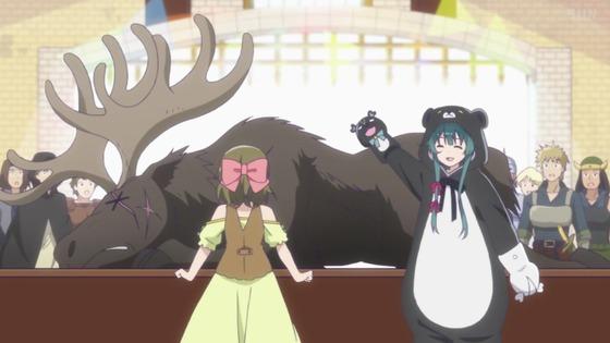 「くまクマ熊ベアー」第3話感想 (8)