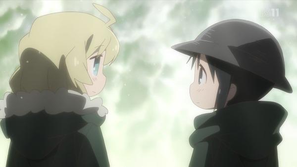 「少女終末旅行」12話(最終回)感想 世界とヌコの真実を知る2人!滅びも終わりも悲しいけれど寂しくない、独りじゃないから。(画像)