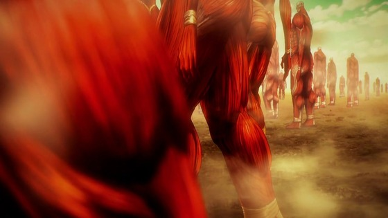 「進撃の巨人」64話(4期 5話)感想 (103)