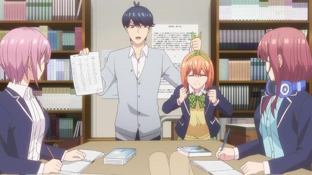 「五等分の花嫁」第6話感想 (12)