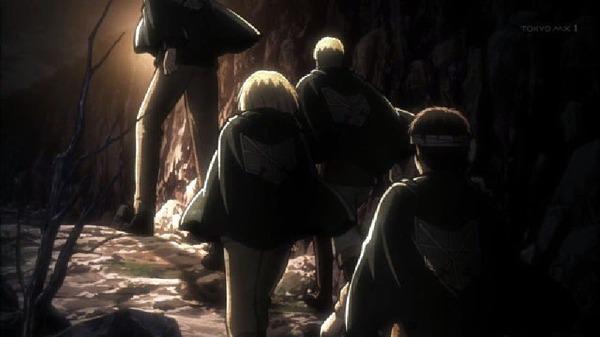 「進撃の巨人 Season2」32話 (1)
