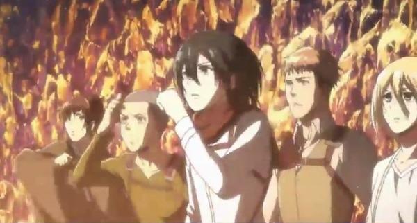 「進撃の巨人 Season3」(3期 8話)45話感想 (19)