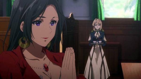「ヴァイオレット・エヴァーガーデン」4話 (4)