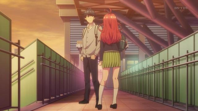 「五等分の花嫁」第6話感想 (25)