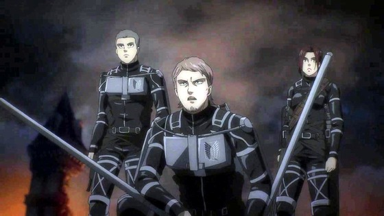 「進撃の巨人」65話(4期 6話)感想  (142)