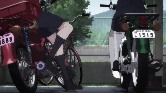 「スーパーカブ」2話感想  (88)