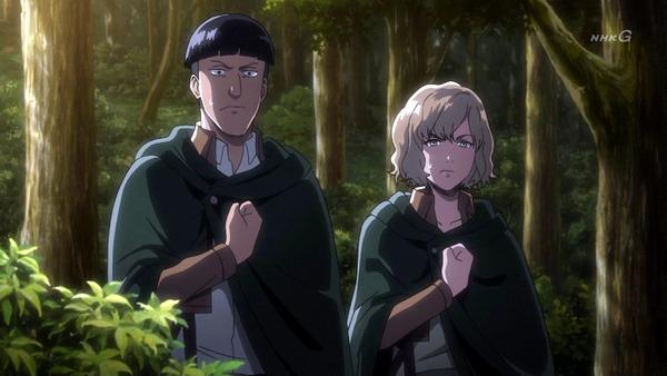 「進撃の巨人 Season3」(3期 4話)41話感想 (26)
