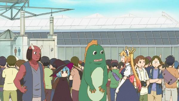 「小林さんちのメイドラゴン」7話 (36)