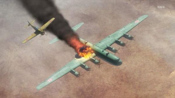 「荒野のコトブキ飛行隊」10話感想 (33)