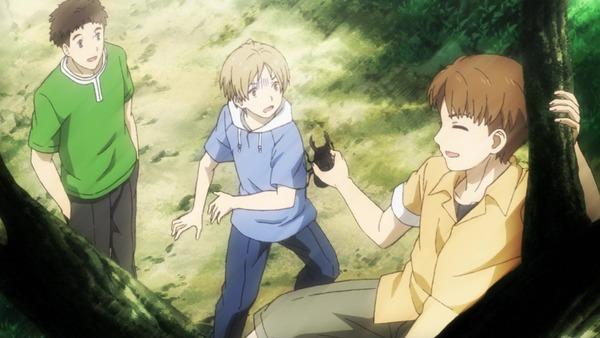 「夏目友人帳 陸」6期 6話感想 西村と北本/友達がいる、� 2000 �れは特別でとても嬉しいこと。(実況&画像)