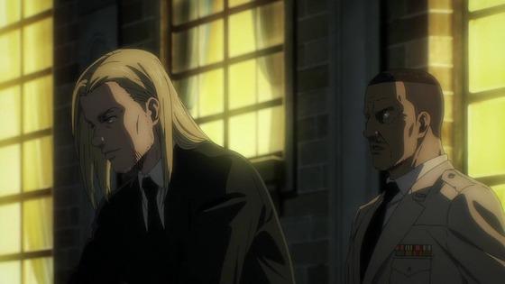 「進撃の巨人」63話(4期 4話)感想 実況まとめ  (14)