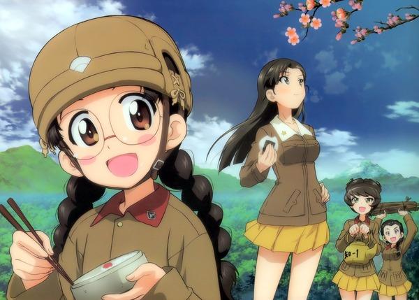 知波単学園 西絹代 九七式中戦車 (2)-001