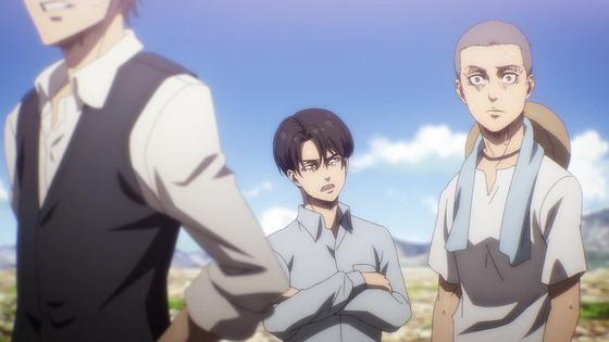 「進撃の巨人」69話(4期 10話)感想 (101)