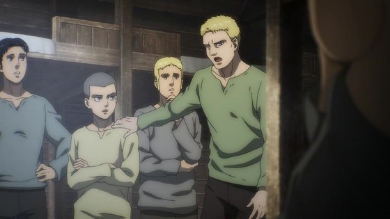 「進撃の巨人」62話(4期 3話)感想 (153)