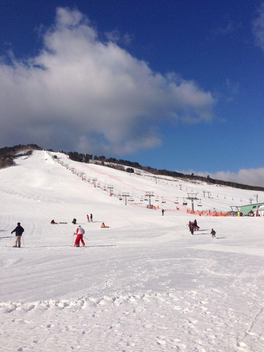 初スキー20130203