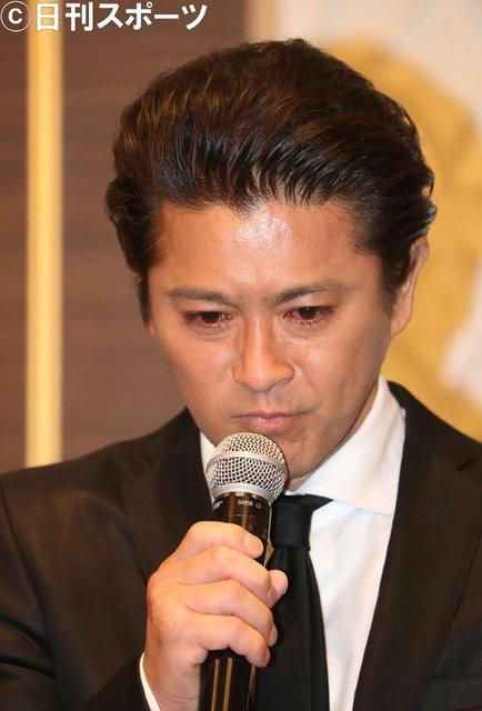 【芸能】TOKIO 山口達也メンバー 涙の謝罪会見『女子高生への強制わいせつ容疑で書類送検』