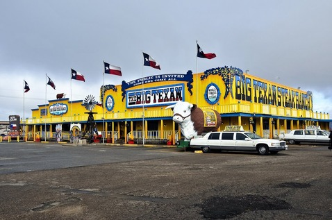 The Big Texan Steak Ranch @ Amarillo Texas