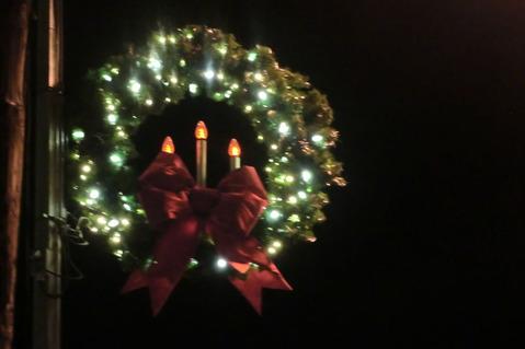 点灯式と夜道散歩@Fredericksburg