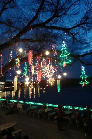 Joyeux Noël@Austin Mozart cafe.